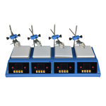 Multi-Position Hotplate Magnetic Stirrer NMHS-300
