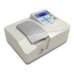 UV Visible Spectrophotometer NUVS-102